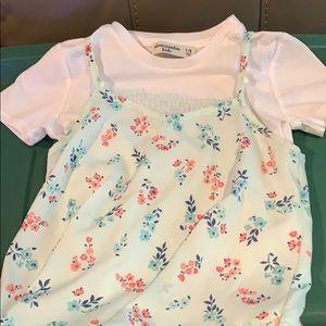 Little girls Abercrombie top